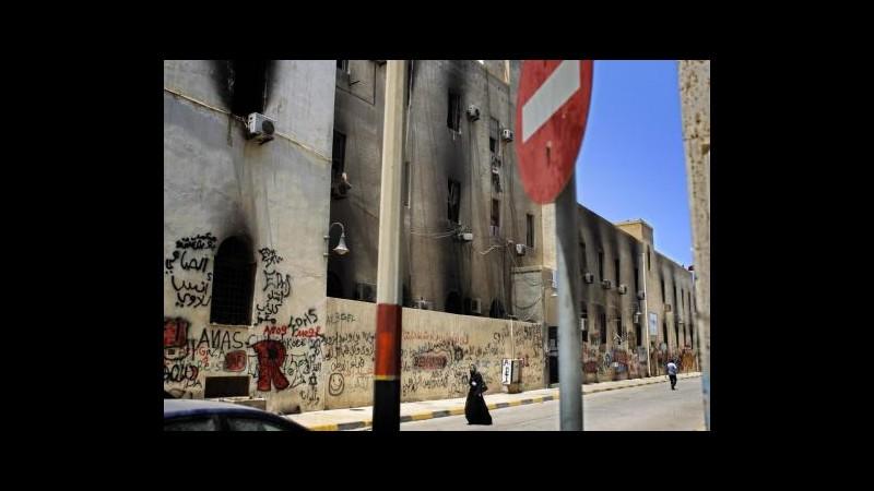Libia, fuoco contro auto console italiano a Bengasi: illeso