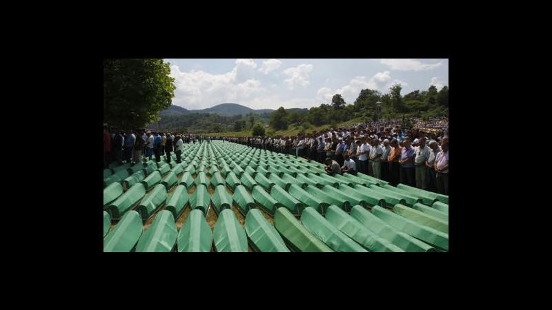 Bosnia, 20 anni carcere a ex poliziotto serbo-bosniaco per Srebrenica