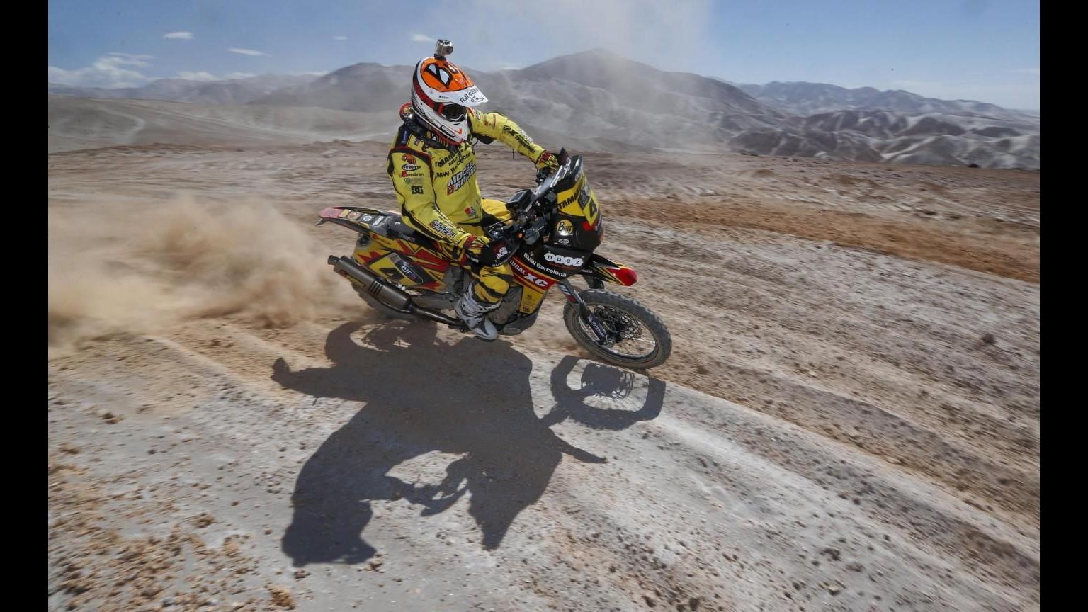 Tragedia alla Dakar, muore motociclista francese Bourgin
