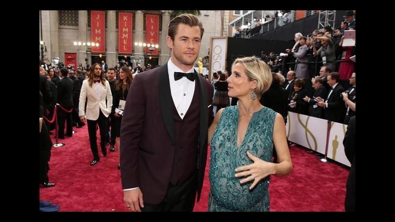 'Thor' di nuovo papà: due gemelli per Chris Hemsworth ed Elsa Pataky