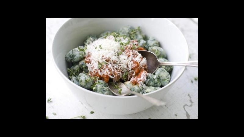 Coldiretti: Nel 2012 consumati più pasta e gnocchi, calo della frutta