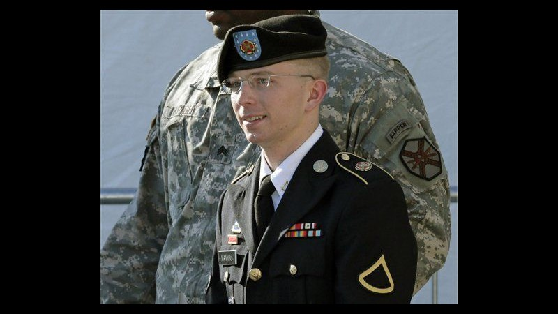 WikiLeaks, se condannato Manning avrà sconto pena causa maltrattamenti