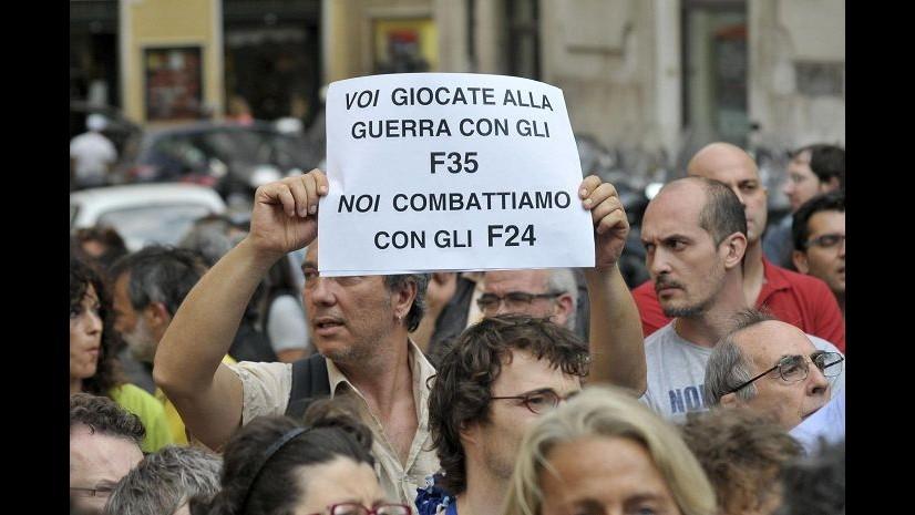 Difesa, presentato lodo Scanu: programma F35 si può modificare