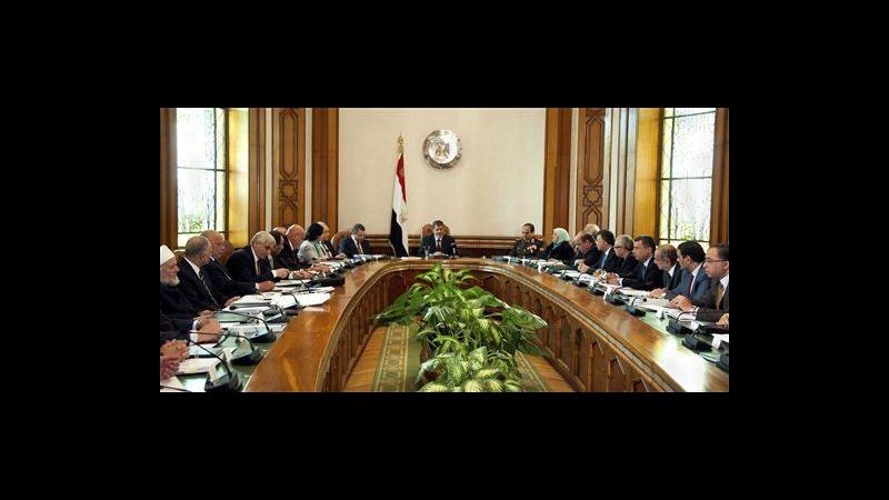 Egitto, rimpasto governo con cambio alle Finanze, domani Fmi al Cairo