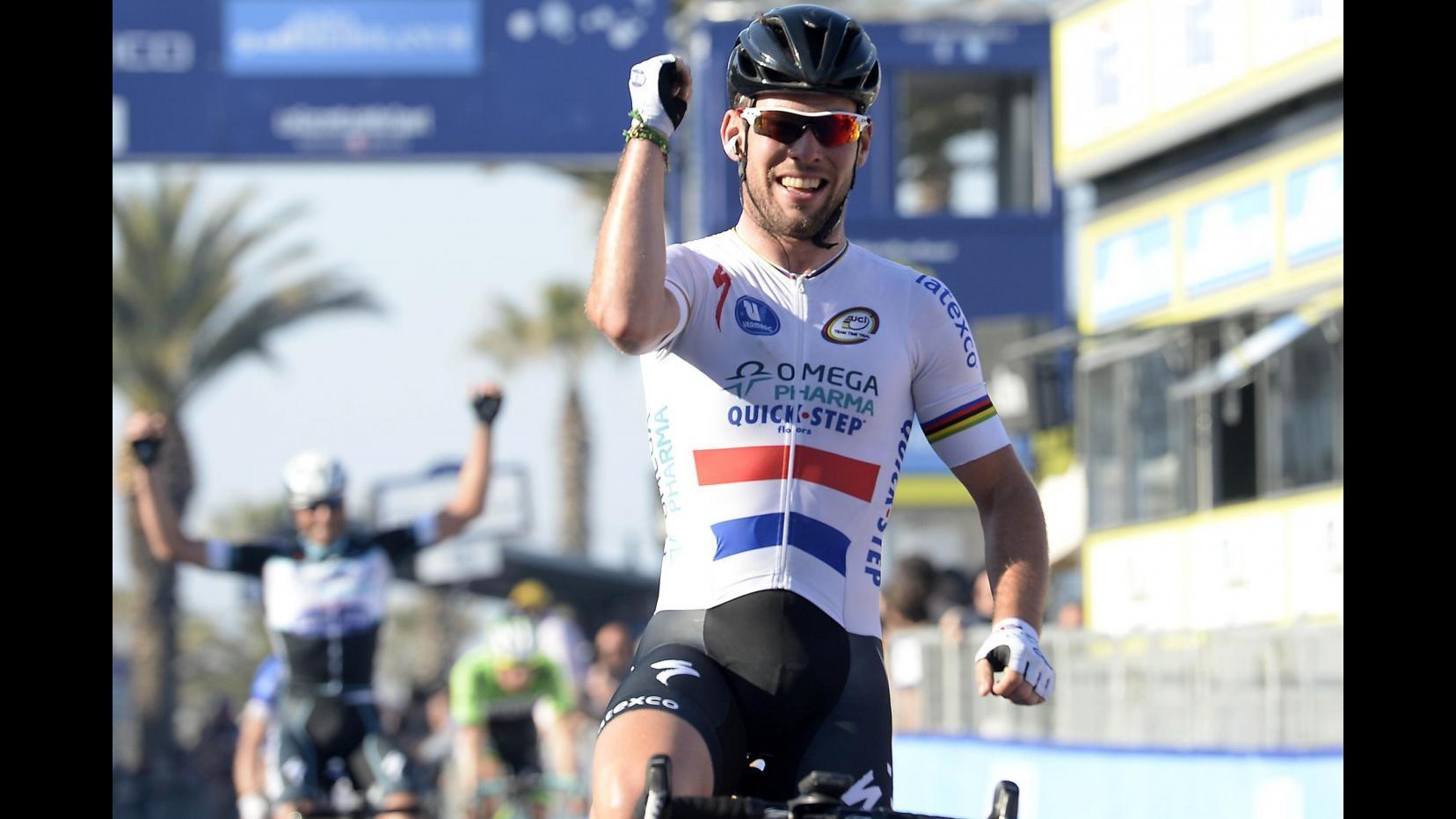 Ciclismo, Tirreno-Adriatico: Cavendish domina sesta tappa allo sprint, 2° Petacchi
