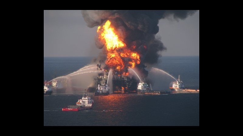 Marea nera, Transocean patteggia, pagherà 1,4 miliardi dollari a Usa
