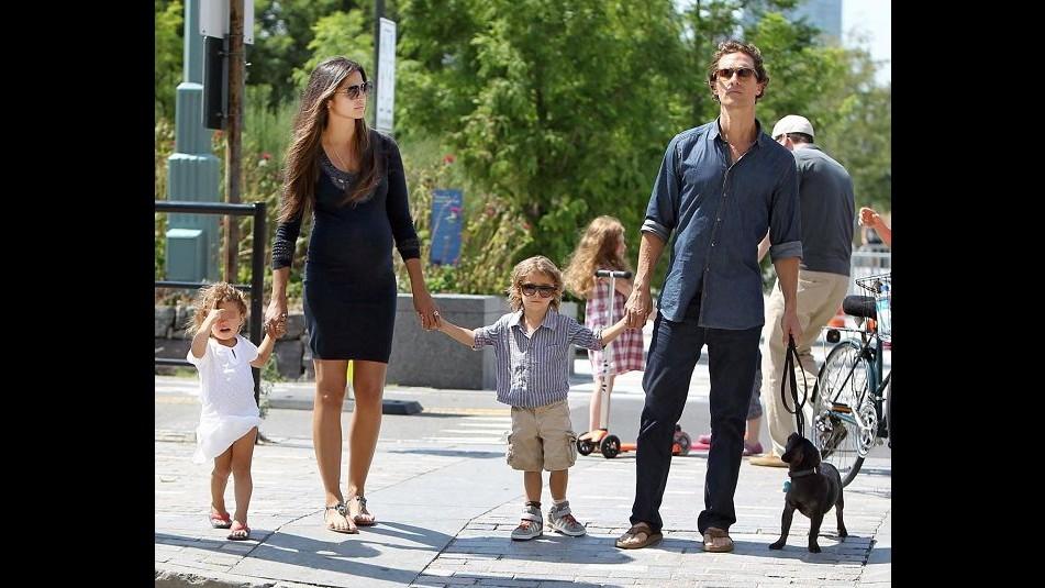 Matthew McConaughey e Camila Alves genitori per la terza volta