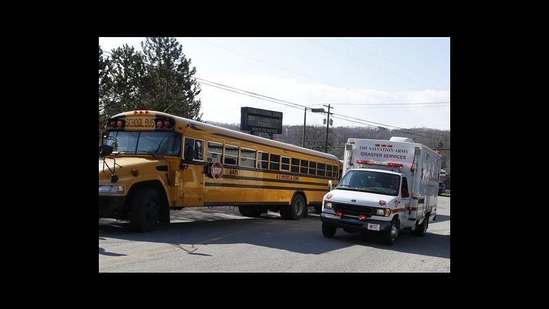 Usa, accoltellamento in un liceo: 20 feriti, fermato uno studente