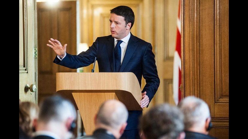 Def, Renzi: Coperture ci sono dal primo giorno