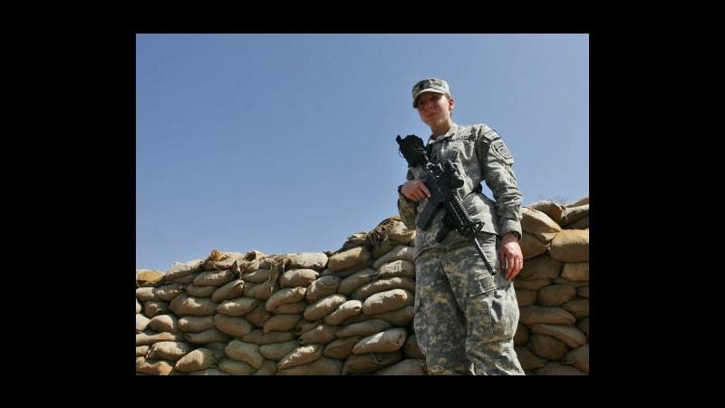 Pentagono apre a soldatesse in prima linea