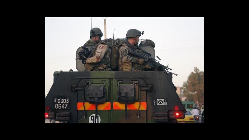 Mali, anche Italia sostiene intervento Francia, ma no truppe di terra