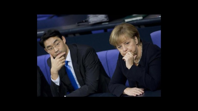 Germania, governo taglia al +0,4% dal +1% stime crescita 2013