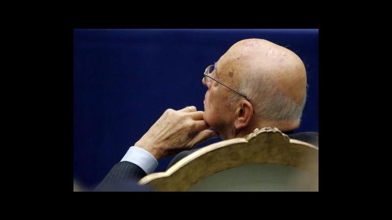 Napolitano a Vietti: Ritardi nomine dovuti a contrasti interni Csm
