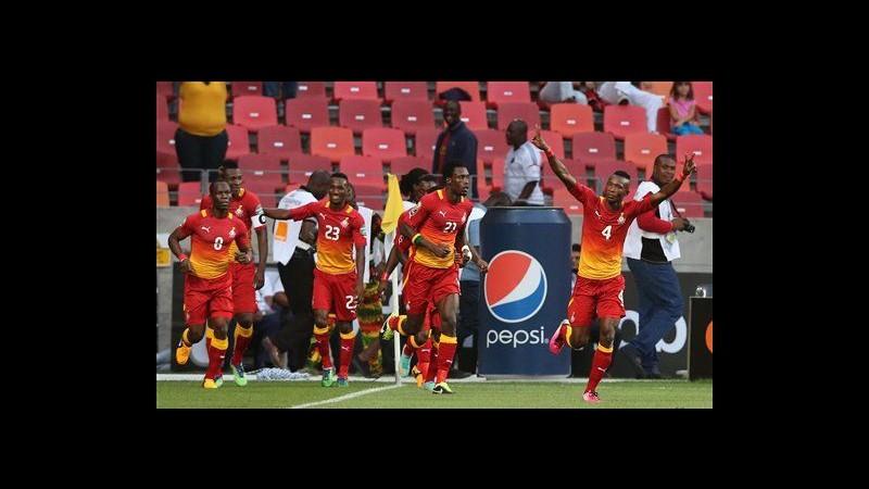 Coppa d'Africa, Ghana e Mali qualificate ai quarti di finale