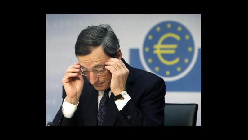 Bce: 61,1 mld da 356 banche per rimborsi secondo Lltro, sotto attese