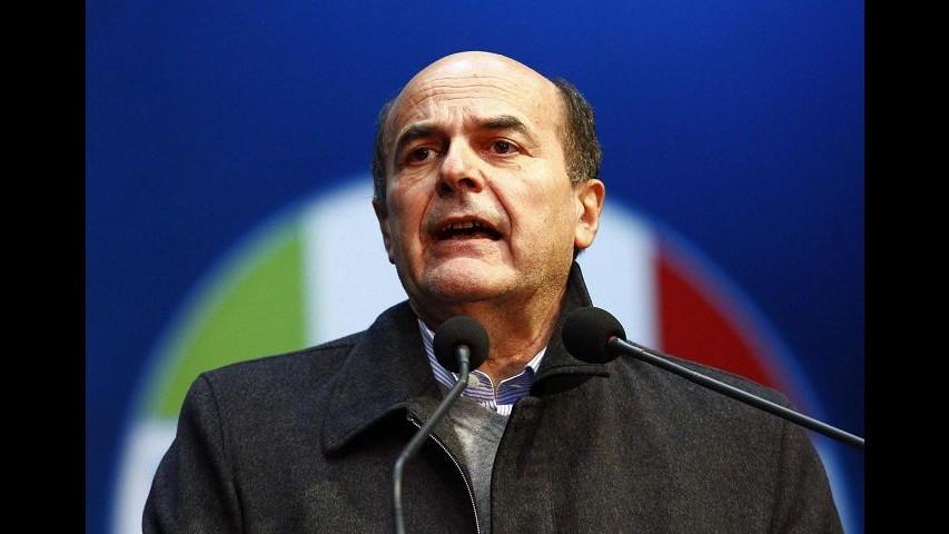 Bersani: Io non gradito a Merkel? E' una gaffe del professore
