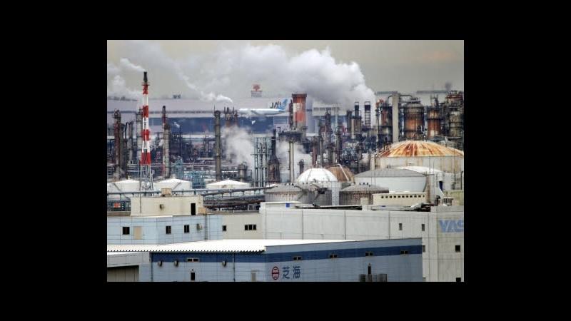 Istat: Fatturato industria -4,3% nel 2012, tonfo per gli ordini
