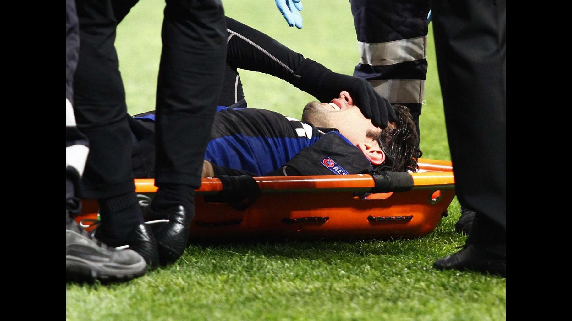 Inter, dramma Milito: Lesione al crociato e stagione finita