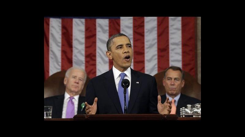 Obama lancia riforme: Più lavoro e aumento salari. Poi appello su armi