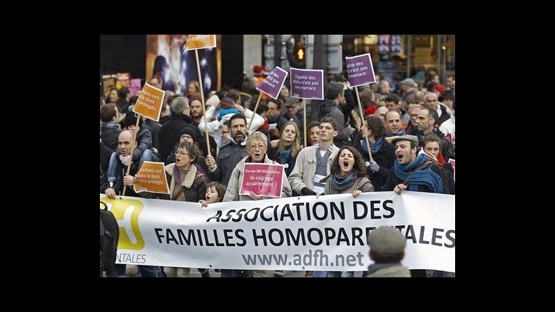 Francia, Assemblea nazionale approva nozze e adozioni gay