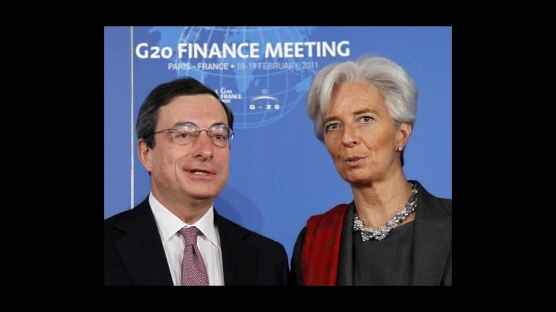 Lagarde: Rischio bassa inflazione in eurozona, Bce agisca