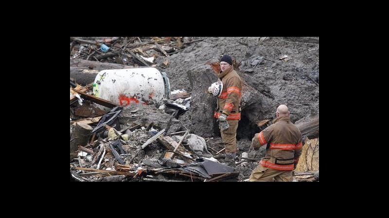 Usa, frana in Stato di Washington: salgono a 18 i morti, 30 i dispersi