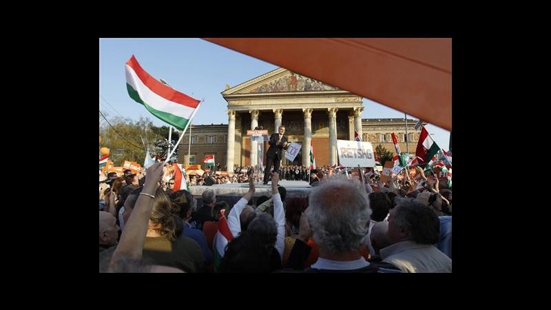 Ungheria, Orban: In elezioni 6 aprile avremo vittoria brillante