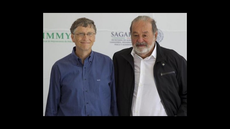 Forbes, messicano Slim è più ricco del mondo, tre italiani in top 100