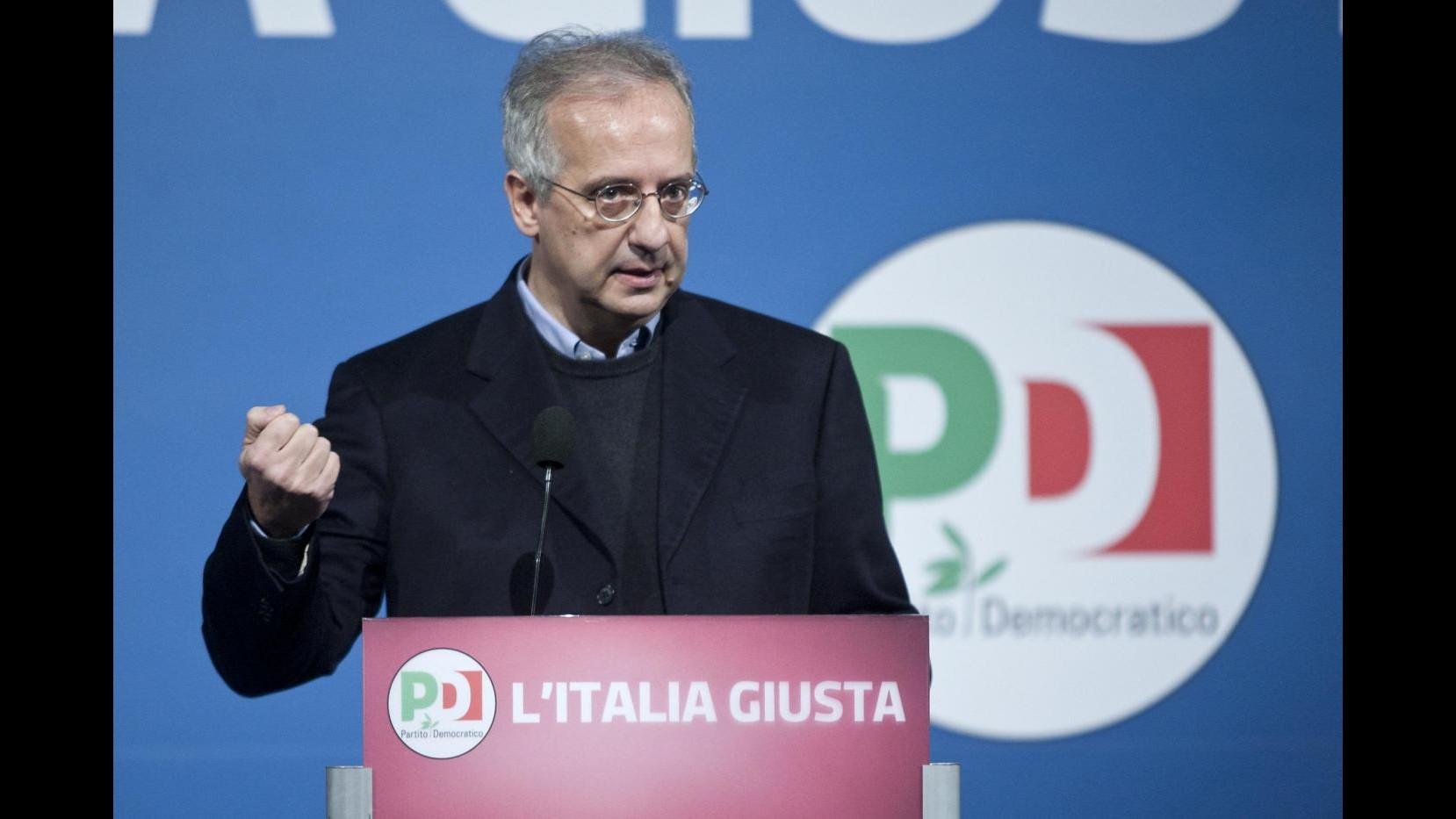 Elezioni, Veltroni: Niente governissimo e blandizie a M5S