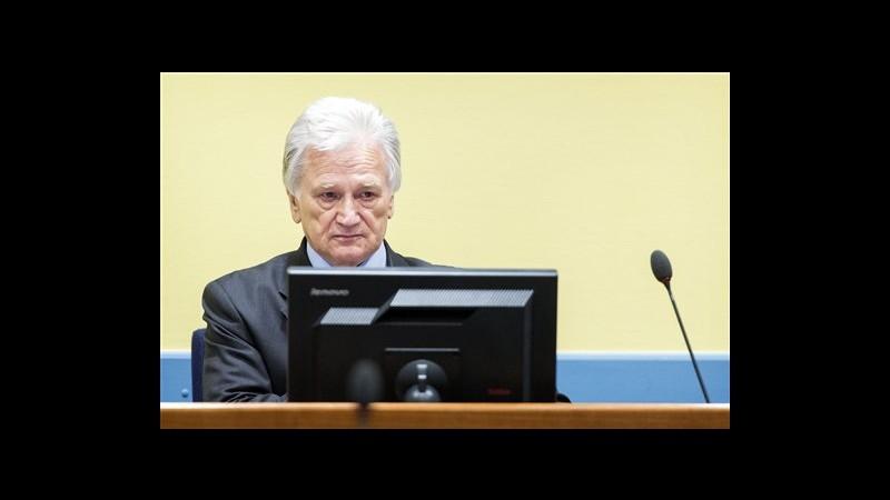 Assolto in appello generale serbo Perisic, ex collaboratore Milosevic