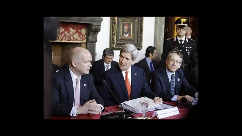 Siria, da Usa sostegno a opposizione, per prima volta aiuti non letali
