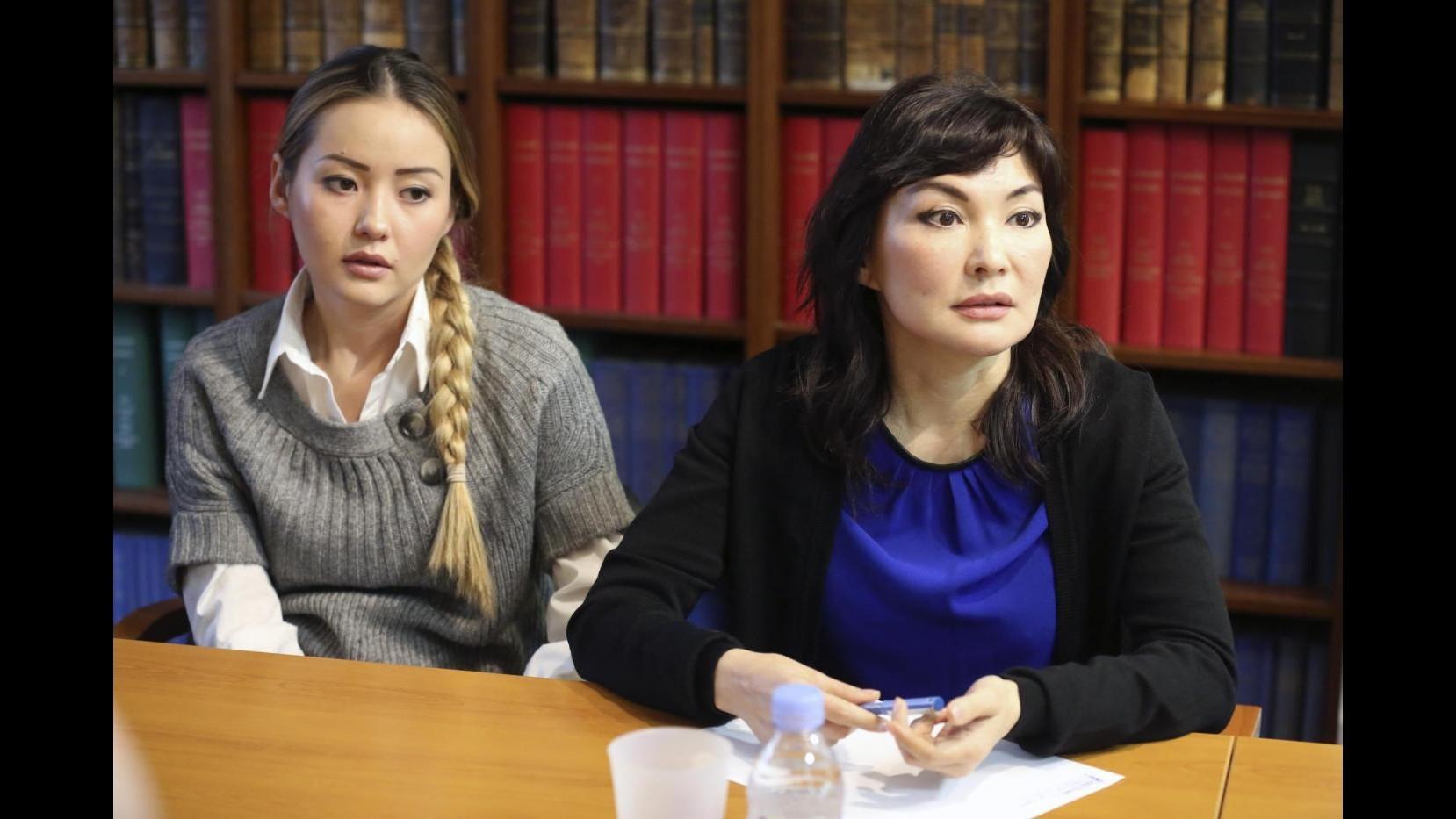 Kazakistan, Shalabayeva domani incontra giornalisti a Roma