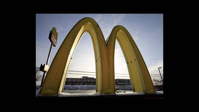 McDonald's, utile I trimestre cala a 1,2 mld dollari, sotto attese