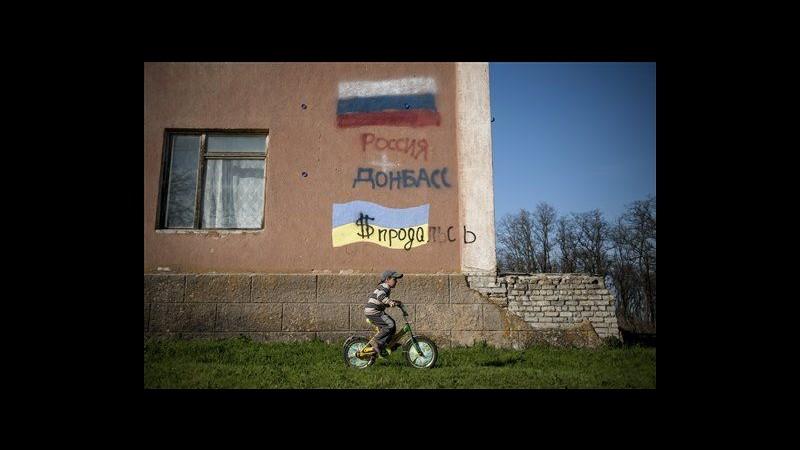 Ucraina: Tregua per Pasqua nell'est, sospese operazioni contro filorussi