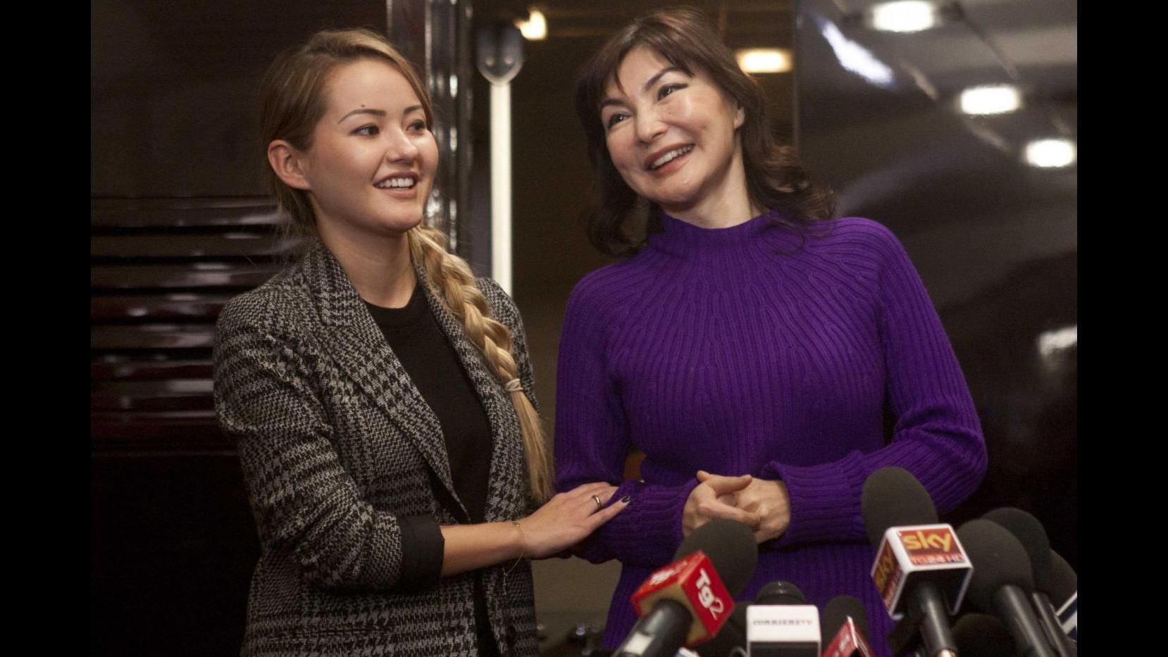 Alma Shalabayeva ottiene lo status di rifugiata politica