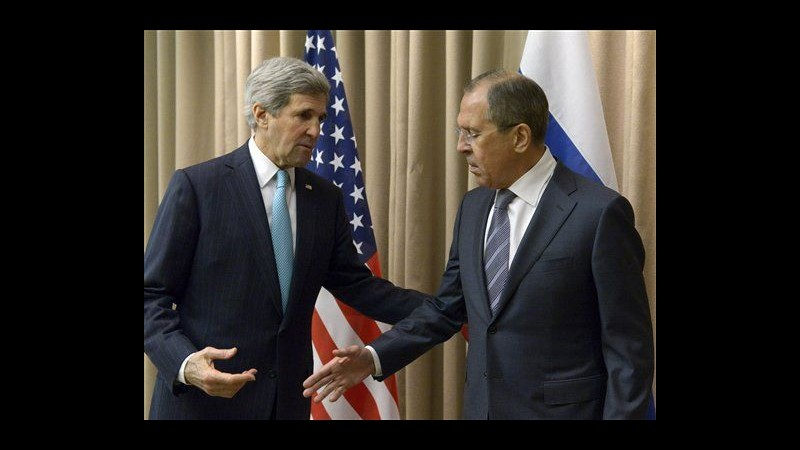 Ucraina, a Ginevra raggiunto accordo per allentamento tensione