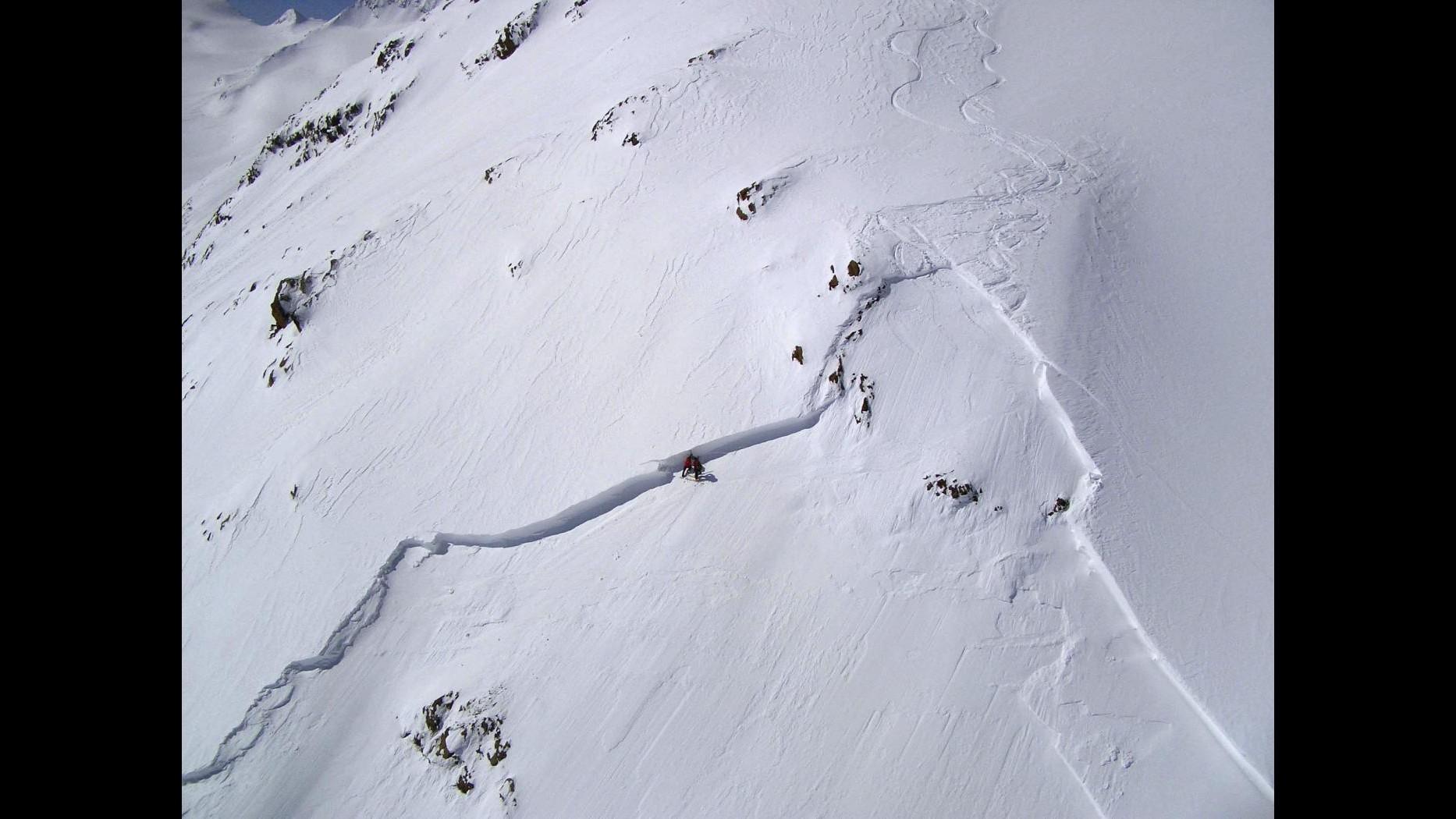 Maltempo, in Piemonte forte pericolo valanghe causa nevicate di ieri