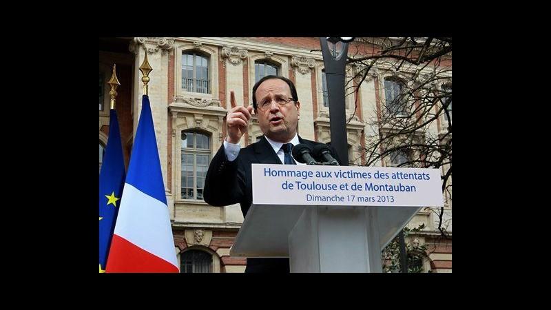 Tolosa, Hollande partecipa a commemorazione vittime Merah