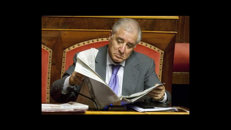 Dell'Utri: Sono prigioniero politico, vorrei fare servizi sociali come Berlusconi