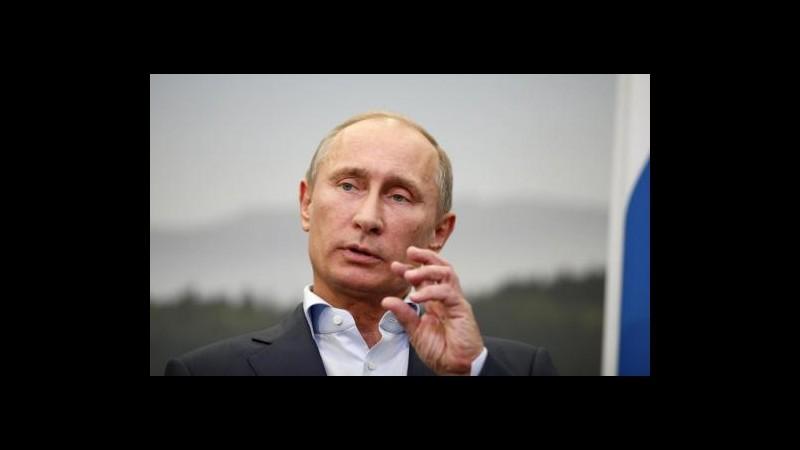 Ucraina, Putin: Russia ha ritirato truppe dal confine