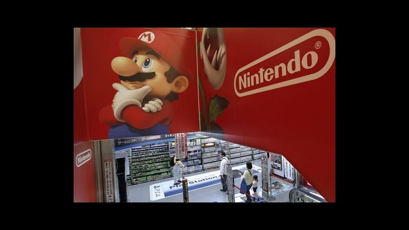Nintendo chiude esercizio in rosso, pesano vendite Wii U sotto attese