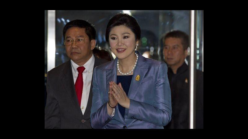 Thailandia,premier testimonia in caso abuso d'ufficio: domani verdetto