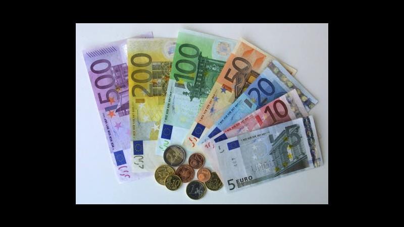 Fisco, entrate +2,8% nel 2012, con manovre correttive +21 mld