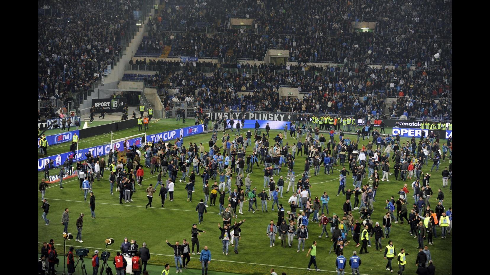 Spari Coppa Italia, Genny 'a carogna: Nessuna trattativa con la Digos
