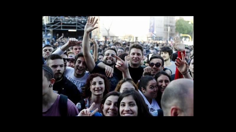 Roma, concerto del primo maggio: carabinieri arrestano 51 persone