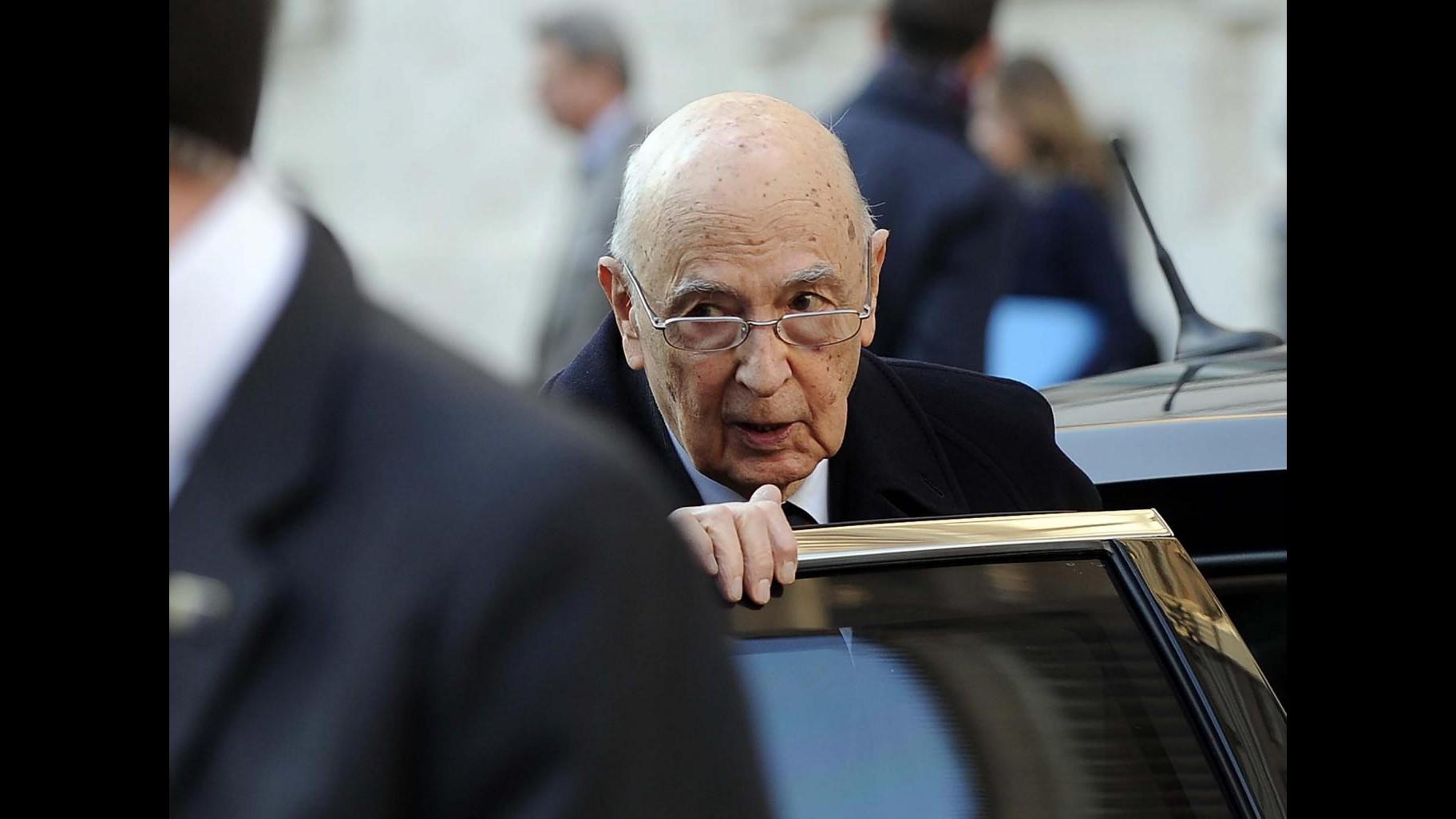 Primo maggio, Napolitano: Festa? No, è allarme lavoro. A sindacati nuovo ruolo