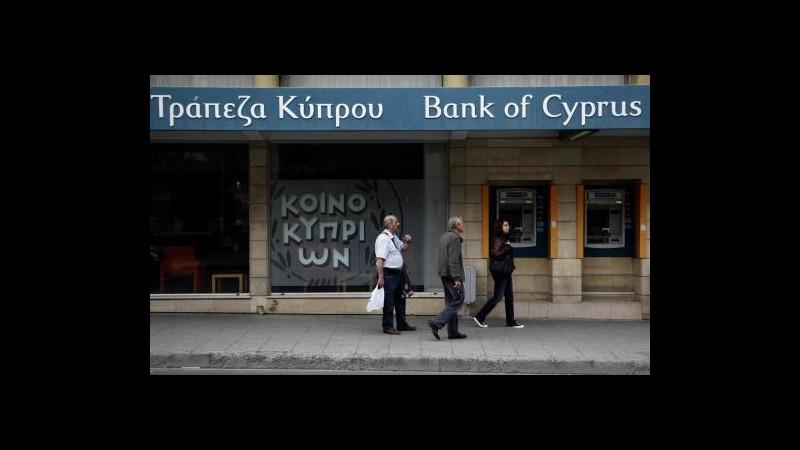 Cipro, Bank of Cyprus blocca operazioni in Romania, verso vendita