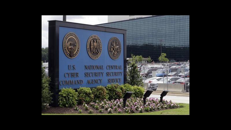 Caso Nsa, atteso voto Camera Usa su riforma programma sorveglianza