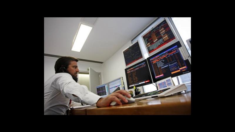 Borsa, Milano chiude in cauto rialzo: bene banche, Fiat e Mediaset