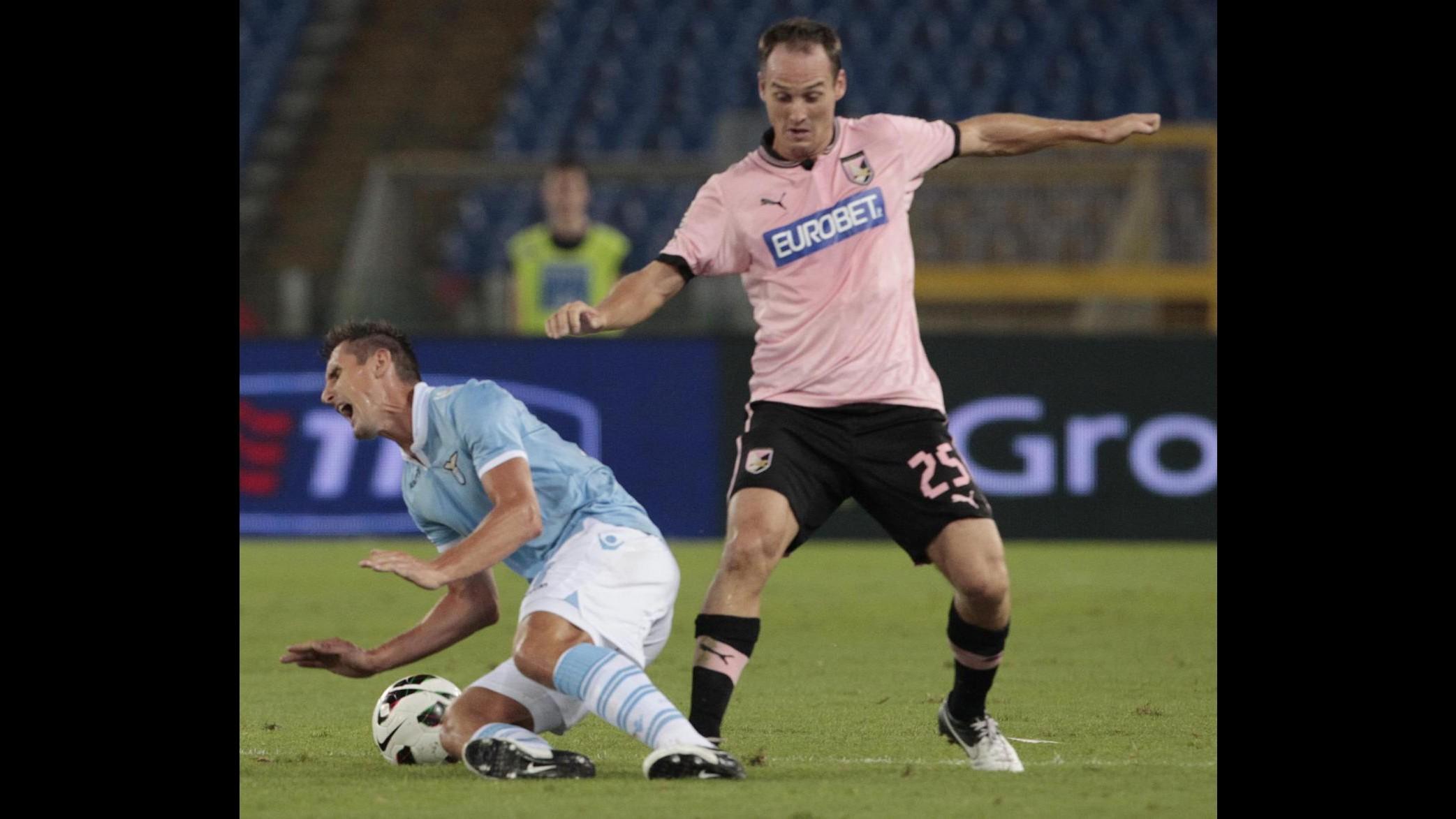 Palermo, risentimento all'adduttore per difensore Von Bergen